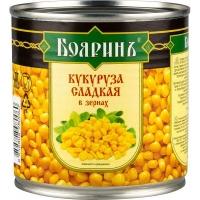 """Кукуруза """"Бояринъ"""" 212 г ключ  ж/б 1/24"""
