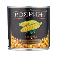 """Кукуруза сладкая """"Бояринъ 425 мл ж/б 1/12"""