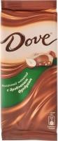 Шоколад Dove  молочный фундук 90 г 1/16