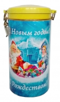 Чай Сабина Дед Мороз со Снегурочкой черный ОПА ж/б 150 гр. 1/6