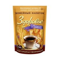 """Кофейный напиток """"Здоровье""""  зип пакет 100 г 1/24"""
