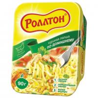 Роллтон по-домашнему чашка курица 90 г 1/24