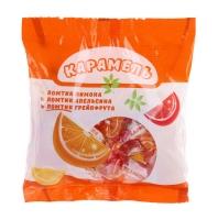 Карамель Ломтик со вкусом апельсина лимона грейпфрукта 1/6 кг