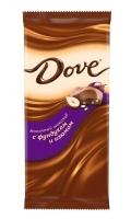 Шоколад Dove  молочный фунд/изюм 90 г 1/16