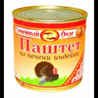 """Паштет из печени индейки """"Семейный очаг"""" 250 гр. 1/30"""