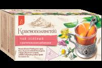 """Чай зелёный """"Краснополянский"""" мелисса, ромашка  (25 пак.*1,7гр) с/яр 1/20"""