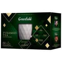 Гринфилд Подарочный набор 4 по 20 пирамид.  с керам. кружкой 1/3