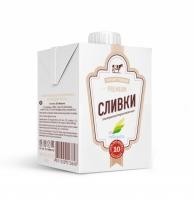 """СЛИВКИ  """"Милкавита"""" 10% 500 г 1/12"""