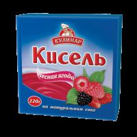 Кисель Кулинар лесная ягода брикет 220 г 1/30