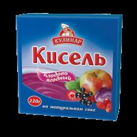Кисель Кулинар плодово-ягодный брикет 220 г 1/30