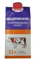 Молоко концентрированное Шадринское 300 г тетрапак 1/27