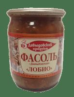 Фасоль Давыдовская лобио 520 г ст/б 1/11