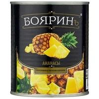 "Компот Ананасы кружочки ""Бояринъ"" 850 мл ж/б 1/12"