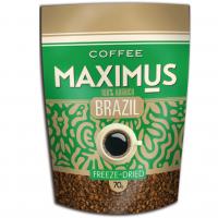 Кофе Максимус Арабика Бразилия м/у 70 г 1/40
