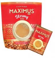 """Максимус """"Кофе 3 в 1 Стронг"""" 18 г*20*18"""