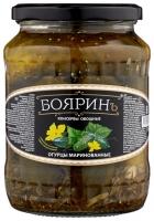 "Огурцы хрустящие марин. ""Бояринъ"" 720 мл с/б 1/8"