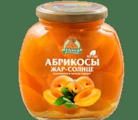 Компот Абрикос М.Л. 580 мл  ст/б 1/12