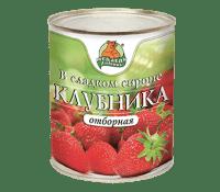 Компот Клубника  М.Л. 850 мл ж/б 1/12