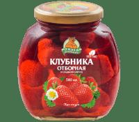 Компот Клубника  М.Л. 580 мл ст/б 1/12