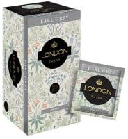 Чай Лондон черный Earl grey мел. лист 200 пак.*2гр. м/уп 1/5, КОНВЕРТ
