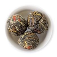 Чай зелёный связанный LEMON LILY LYCHEE, КИТАЙ (10 шариков) 1/1