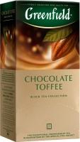 Гринфилд аромат шоколад тоффи 25 пак. 1/10