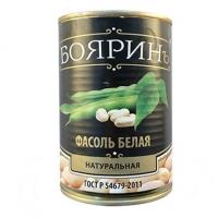 """Фасоль белая в т/с """"Бояринъ 425 мл ж/б 1/12"""