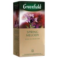 Гринфилд чай аромат Spring Melody чабрец, мята 25 пак. 1/10