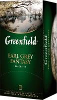 Гринфилд чай черный ЭрлГрей 25 пак. 1/10