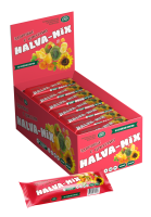 """Батончик подсолнечный """"Halva-Mix"""" с цукатами в глазури, 60 г, шт 1/18"""