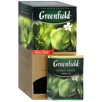 Гринфилд аромат лайм и грейфрут  25 пак. 1/10