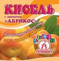 Кисель Агриппина абрикос брикет 220 г 1/30