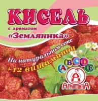 Кисель Агриппина земляника брикет 220 г 1/30