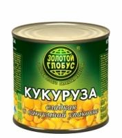Кукуруза Золотой Глобус 425 г ж/б 1/24