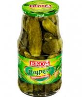 "Огурцы консерв. ""ЭКО"" 1800 мл с/б 1/6"