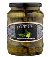 """Огурцы корнишоны марин. """"Бояринъ"""" 720 мл с/б 1/8"""