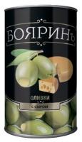 """Оливки с сыром """"Бояринъ"""" 300 мл ж/б 1/12"""
