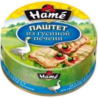 Паштет Хаме в ассорти 117 г ж/б 1/10