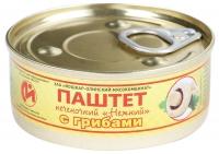 Паштет печеночный с грибами ключ 100 гр Йошкар-Ола 1/24