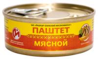 Паштет печеночный со свиным жиром ключ 100 гр Йошкар-Ола 1/24