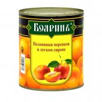 "Компот Персики  ""Бояринъ"" 850 мл ж/б 1/12"