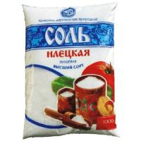 Соль пищевая в/с, помол №1 ИЛЕЦКАЯ, 1 кг, 1/30