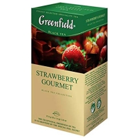 Гринфилд аромат шокол. клубника 25 пак. 1/10