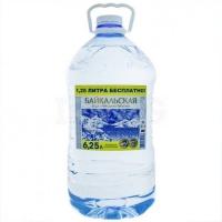 """Питьевая вода """"Байкальская"""" негаз 6,25 литра 1/2"""