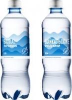 """Питьевая вода """"Байкальские родники"""" негаз 0,5 литра 1/12"""