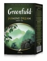 Гринфилд Зелёный Жасмин 200 грамм 1/10