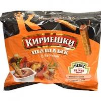 Сух.Кириешки ржаные Шашлык+ кетчуп  60г+25мл  1/30