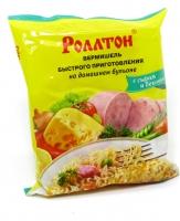 Роллтон лапша с сыром и беконом 60 г 1/42