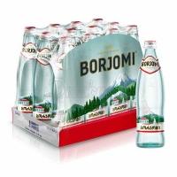 """Минеральная вода """"Боржоми"""" газ 0,5 л. 1/12"""
