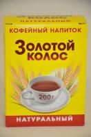 """Кофейный напиток """"Золотой колос"""" 200 г картон 1/20"""